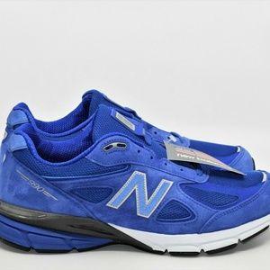 New Balance 990v4 Royal Blue Black Heritage